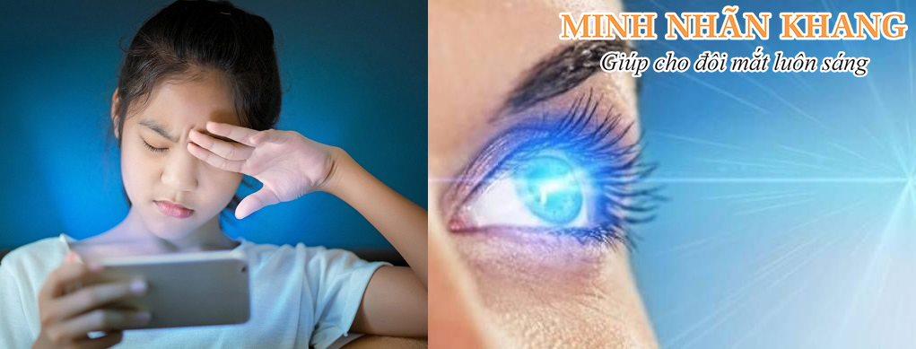 Ánh sáng xanh sẽ làm tổn hại thị lực nghiêm trọng nếu tiếp xúc thường xuyên
